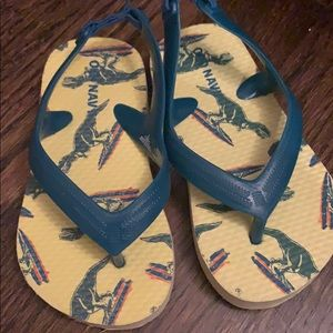 Old navy Dino sandals size 6